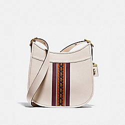 EMERY CROSSBODY WITH VARSITY STRIPE - B4/CHALK MULTI - COACH 89122