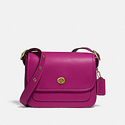 RAMBLER CROSSBODY - BRASS/HIBISCUS - COACH 89127
