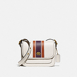 RAMBLER CROSSBODY WITH VARSITY STRIPE - B4/CHALK MULTI - COACH 89139