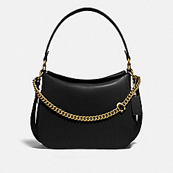 SIGNATURE CHAIN HOBO - B4/BLACK - COACH 89178