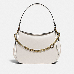 SIGNATURE CHAIN HOBO - B4/CHALK - COACH 89178