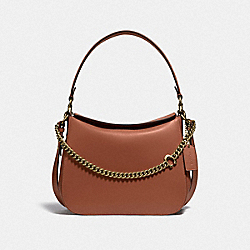 SIGNATURE CHAIN HOBO - B4/1941 SADDLE - COACH 89178