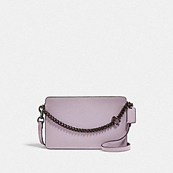 SIGNATURE CHAIN CROSSBODY IN COLORBLOCK - V5/BOYSENBERRY MULTI - COACH 89292