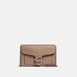 TABBY CHAIN CLUTCH - LH/TAUPE - COACH 89364