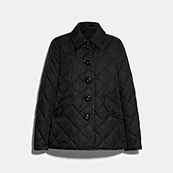 HACKING JACKET - BLACK - COACH 89643