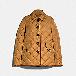 HACKING JACKET - KHAKI - COACH 89643