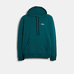 DISNEY X COACH BAMBI HOODIE - DEEP SEA - COACH 89713