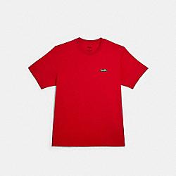 DISNEY X COACH BAMBI T-SHIRT - RED - COACH 89716