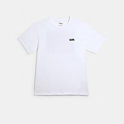 DISNEY X COACH PINOCCHIO T-SHIRT - WHITE - COACH 89717