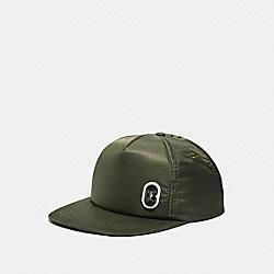 SOLID NYLON TRUCKER HAT - FATIGUE - COACH 89722