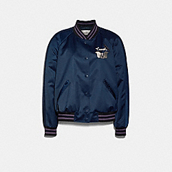 DISNEY X COACH DUMBO SOUVENIR JACKET - NAVY - COACH 89817