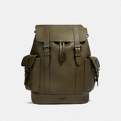 HUDSON BACKPACK - QB/UTILITY GREEN - COACH 89896