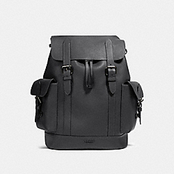 HUDSON BACKPACK - QB/INDUSTRIAL GREY - COACH 89896
