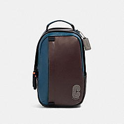 EDGE PACK IN COLORBLOCK - QB/OXBLOOD AEGEAN MULTI - COACH 89911