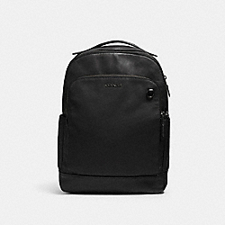 GRAHAM BACKPACK - QB/BLACK - COACH 89939