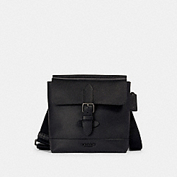 HUDSON CROSSBODY - QB/BLACK - COACH 89961