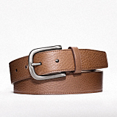 HEAVY HARNESS PEBBLED BELT