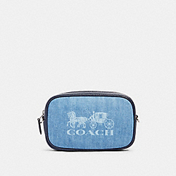 JES CONVERTIBLE BELT BAG - SV/DENIM - COACH 90393