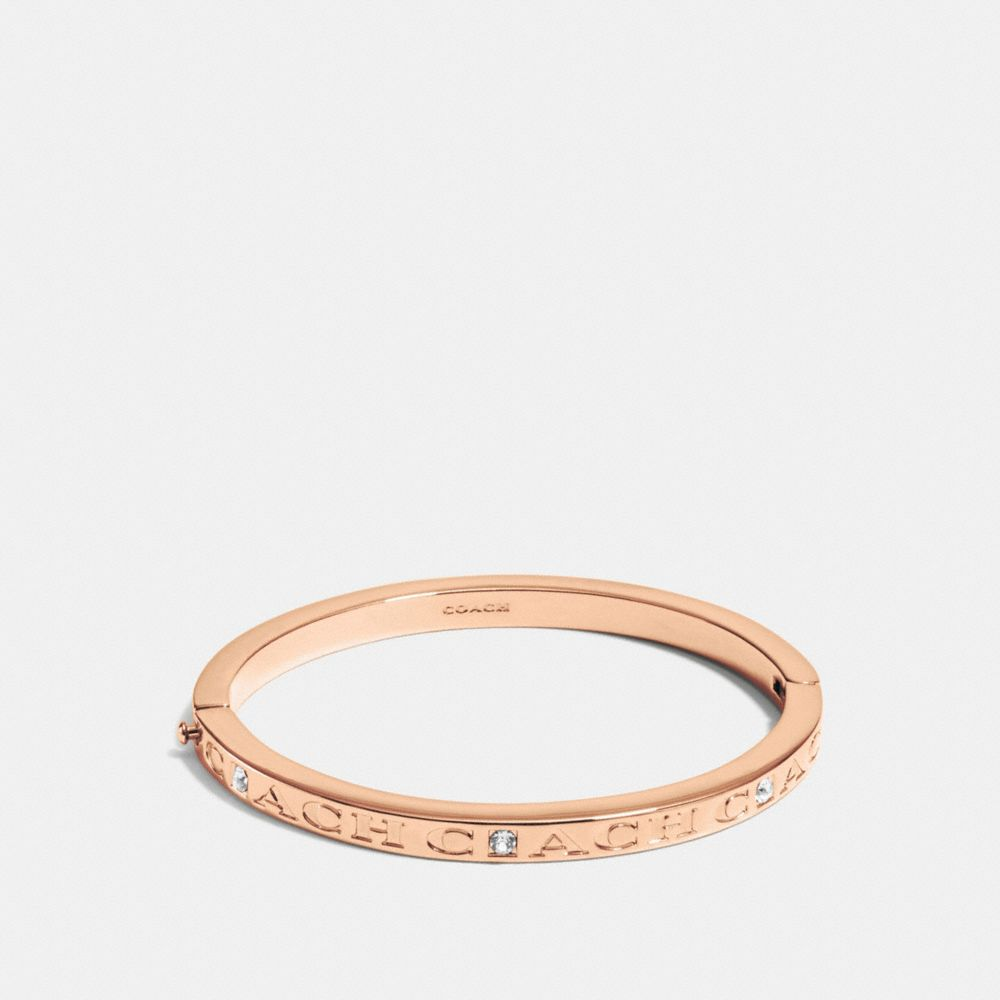 COACH PAVE HINGED METAL BANGLE - Alternate View