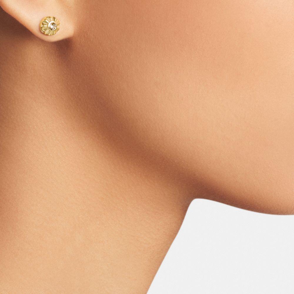 Daisy Rivet Stud Earrings - Alternate View A1