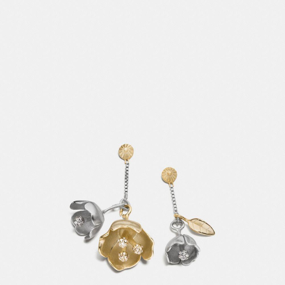 Tea Rose Drop Earrings