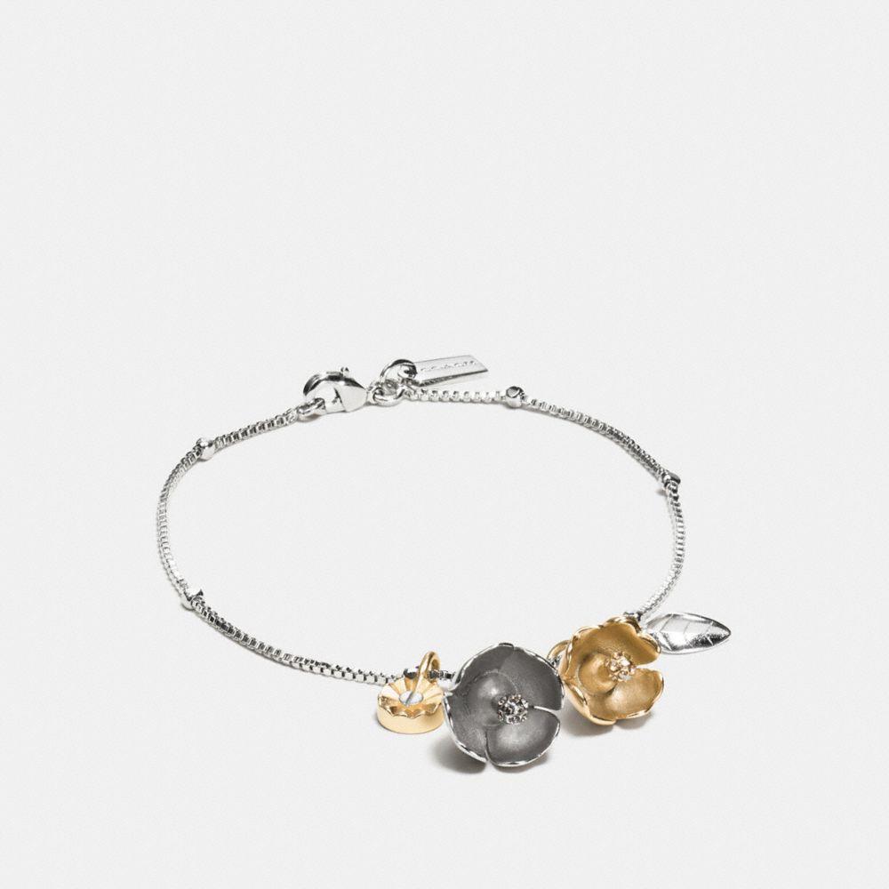 Tea Rose Chain Bracelet