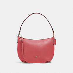 SMALL SKYLAR HOBO - IM/POPPY - COACH 91028