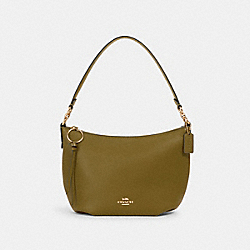 SMALL SKYLAR HOBO - IM/CITRON - COACH 91028