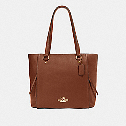 MARLON TOTE - IM/SADDLE 2 - COACH 91031