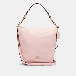 ABBY SHOULDER BAG WITH ROSE BOUQUET PRINT INTERIOR - IM/BLOSSOM - COACH 91032