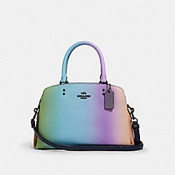 MINI LILLIE CARRYALL WITH OMBRE - QB/MULTICOLOR - COACH 91055