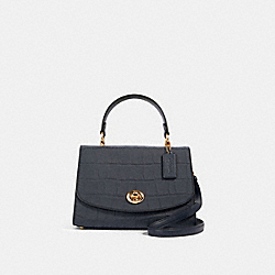 TILLY TOP HANDLE SATCHEL - IM/MIDNIGHT - COACH 91067