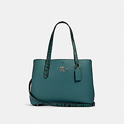 AVENUE CARRYALL - SV/DARK TURQUOISE/WASHED GREEN - COACH 91101