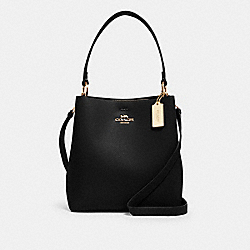 TOWN BUCKET BAG - IM/BLACK OXBLOOD 1 - COACH 91122