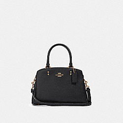MINI LILLIE CARRYALL - IM/BLACK - COACH 91146
