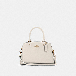 MINI LILLIE CARRYALL - IM/CHALK - COACH 91146