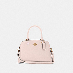 MINI LILLIE CARRYALL - IM/PALE PINK - COACH 91146
