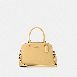 MINI LILLIE CARRYALL - IM/VANILLA CREAM - COACH 91146
