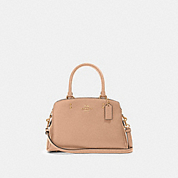MINI LILLIE CARRYALL - IM/TAUPE - COACH 91146