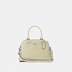 MINI LILLIE CARRYALL - SV/PALE GREEN - COACH 91146