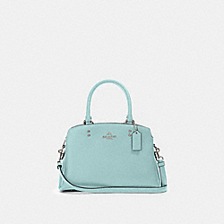 MINI LILLIE CARRYALL - SV/SEAFOAM - COACH 91146