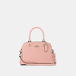 MINI LILLIE CARRYALL - SV/LIGHT BLUSH - COACH 91146