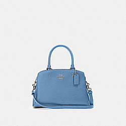 MINI LILLIE CARRYALL - SV/SLATE - COACH 91146