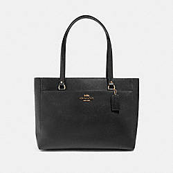 ADDISON TOTE - IM/BLACK - COACH 91150