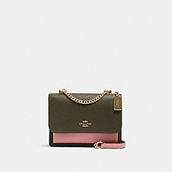 KLARE CROSSBODY IN COLORBLOCK - IM/CANTEEN MULTI - COACH 91166