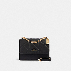 KLARE CROSSBODY WITH QUILTING - IM/BLACK - COACH 91173