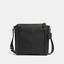 BECKETT POCKET CROSSBODY - NI/BLACK - COACH 91303