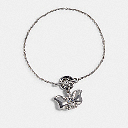 DISNEY X COACH DUMBO TOGGLE BRACELET - SILVER - COACH 91399