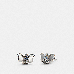 DISNEY X COACH DUMBO STUD EARRINGS - SILVER - COACH 91400