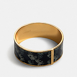 HORSE AND CARRIAGE BANGLE - BLUE MULTI - COACH 91414